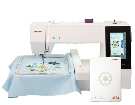 Janome MC 500 E + vyšívací program Janome DIGITIZER JR